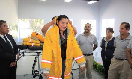 Entregan equipo especializado a PC y Bomberos de Villa de Tezontepec