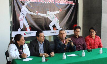 Presentan tercer Selectivo Nacional de Esgrima