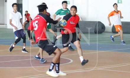 Handball sostuvo amistosos de preparación rumbo a Olimpiada Nacional 2019