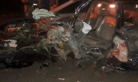 Se registra accidente automovilístico en puente del río Tula