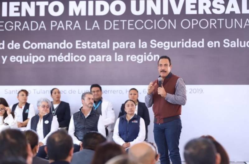 Hidalgo escaló 18 lugares en calidad de atención de la diabetes