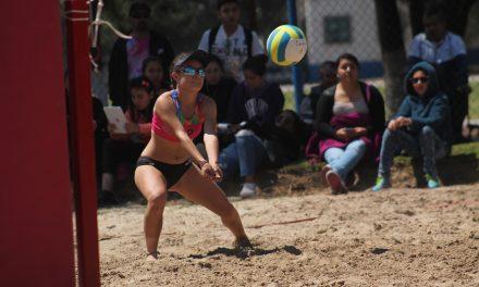 Voleibol playero llega a Mixquiahuala