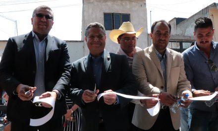 Julio Menchaca Salazar inaugura Casa de Atención Ciudadana en Tepeapulco