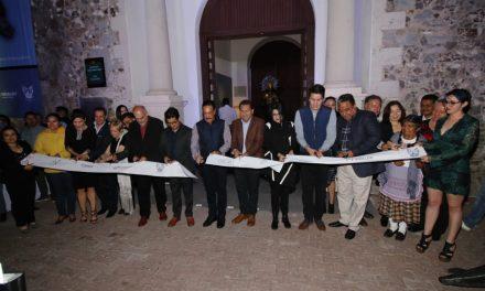 Inaugura Omar Fayad exposición de Leonora Carrington