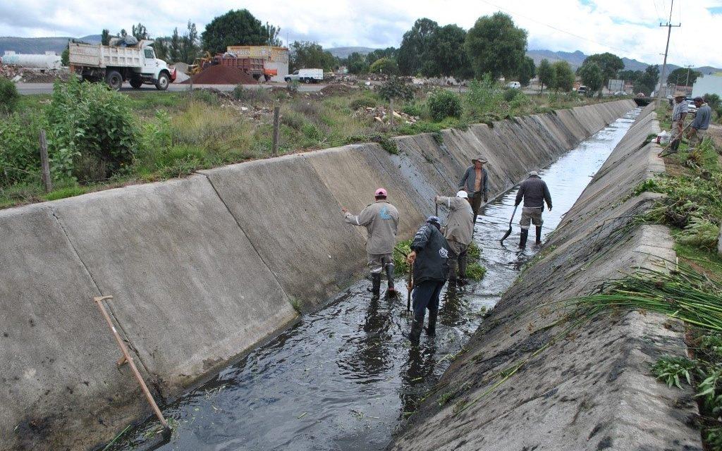 Próxima semana iniciarán limpieza de drenes en Tulancingo