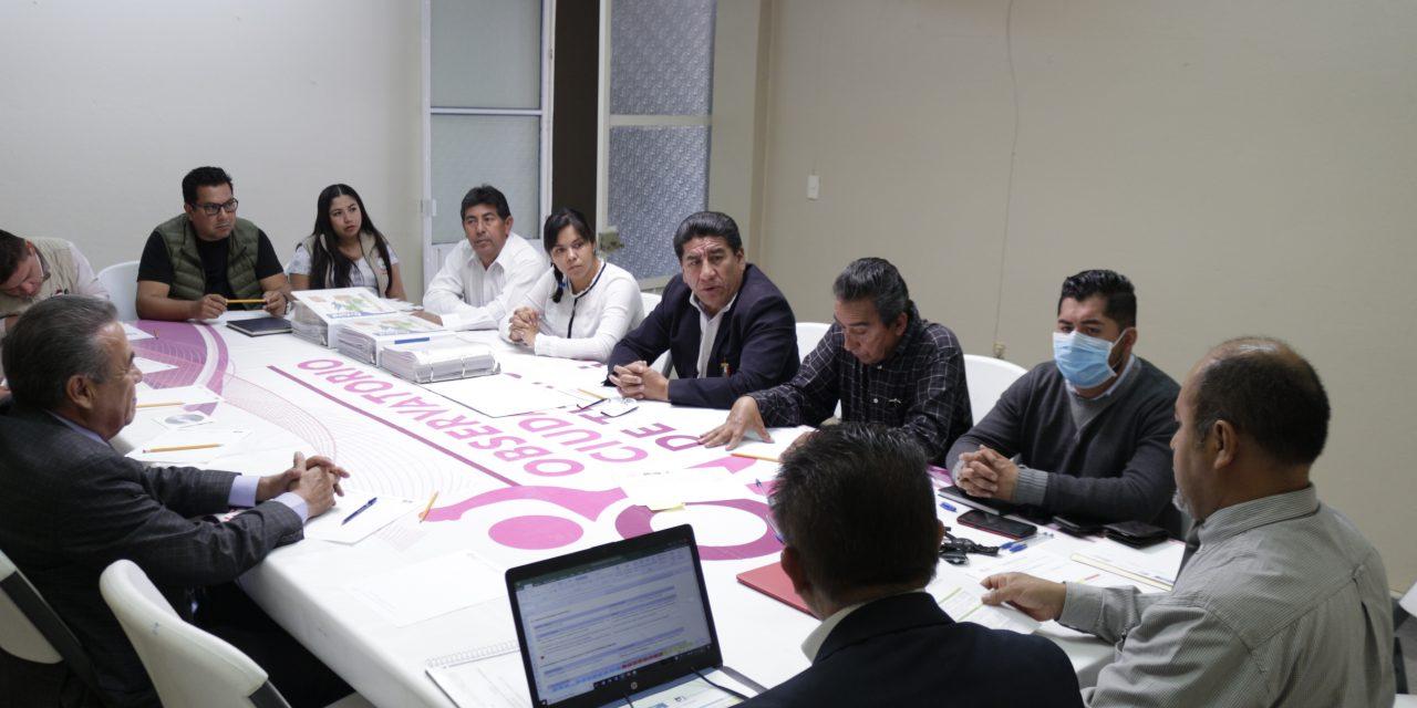 Observatorio Ciudadano continúa verificando al Ayuntamiento de Tizayuca