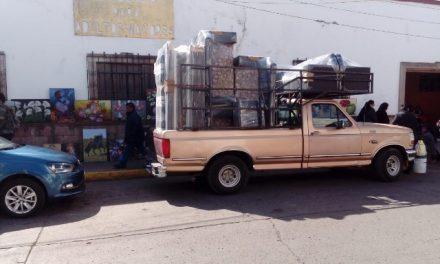 Implementan operativo en Tulancingo para retirar ambulantes y cambaceadores