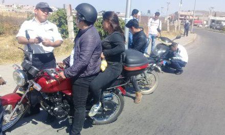 Van 14 accidentes en motocicletas en Tulancingo en este 2019