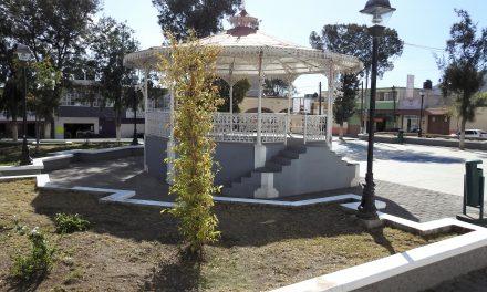 Población de Tolcayuca participará en la Remodelación de la Plaza Principal