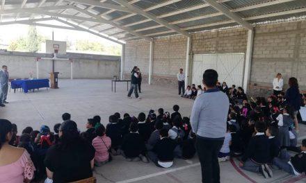 Villa de Tezontepec continúa con acciones para prevenir el delito