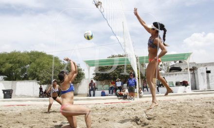 Pollet y Rodríguez, reina y rey de la playa en Mixquiahuala
