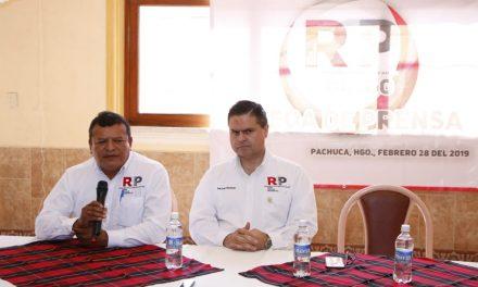 RSP busca 9 mil afiliados para convertirse en partido político
