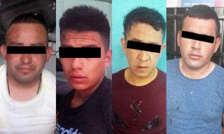 Cuatro detenidos en Zapotlán por robar camioneta cargada de cigarros