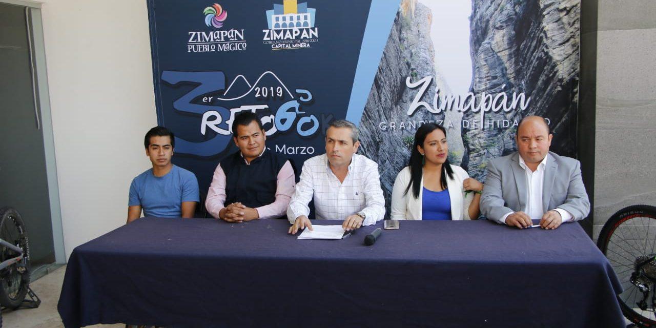 Tercera edición del Reto 60k llegará a Zimapán