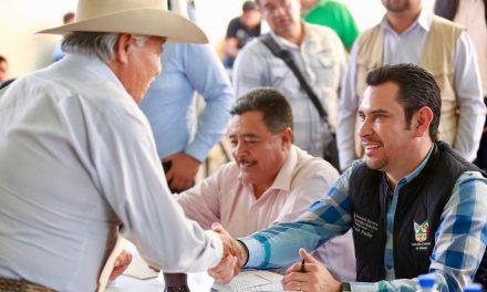 Israel Félix encabeza audiencia pública en Tezontepec de Aldama