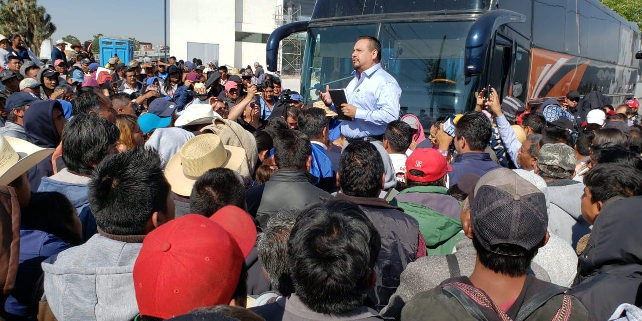 Exigen pobladores de Ixmiquilpan intervención del Congreso para aprobación de presupuesto