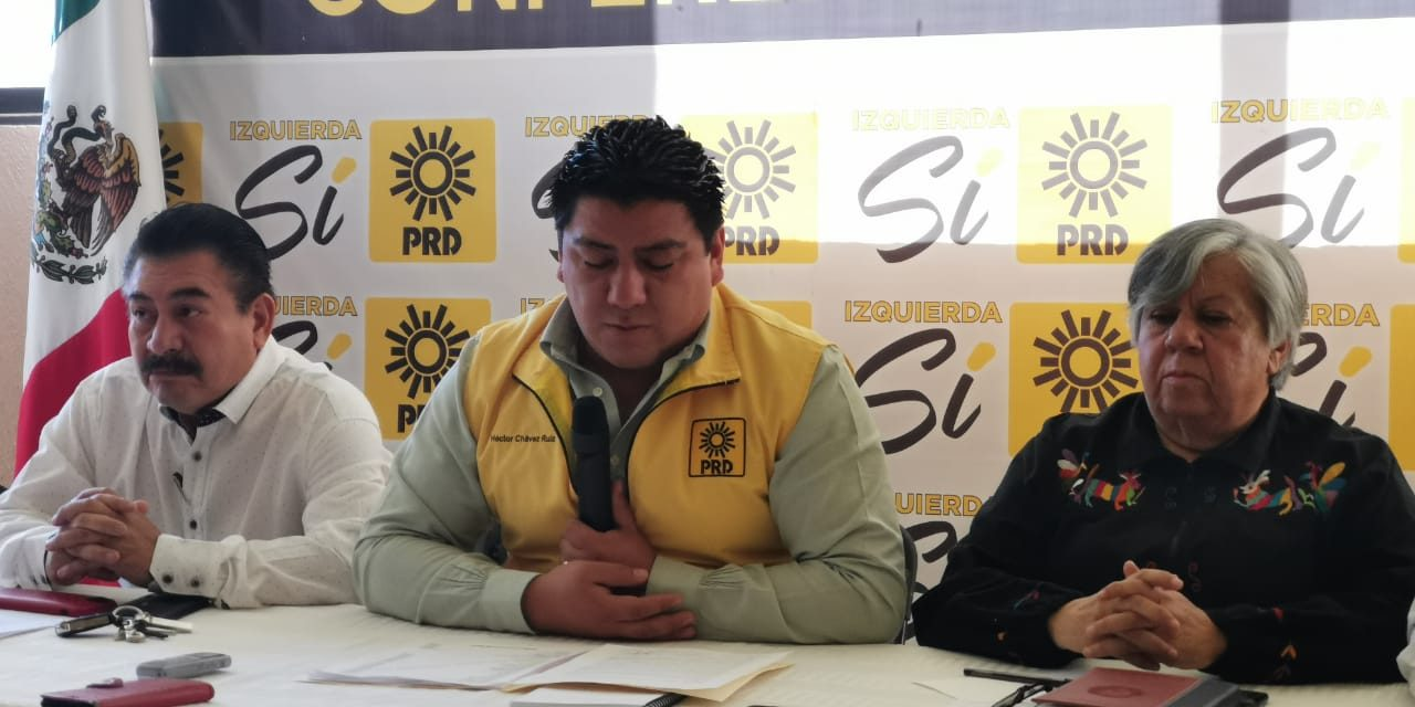 Acusa PRD a diputados de Morena de usurpar funciones