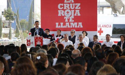 8.5 mdp, meta de colecta de Cruz Roja Hidalgo