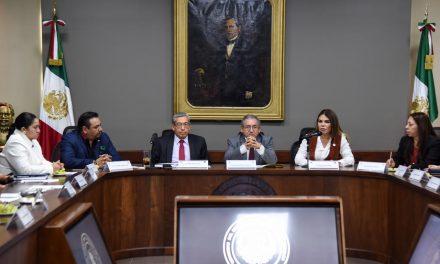 Secretaría de Gobierno y Congreso abordan temas de seguridad