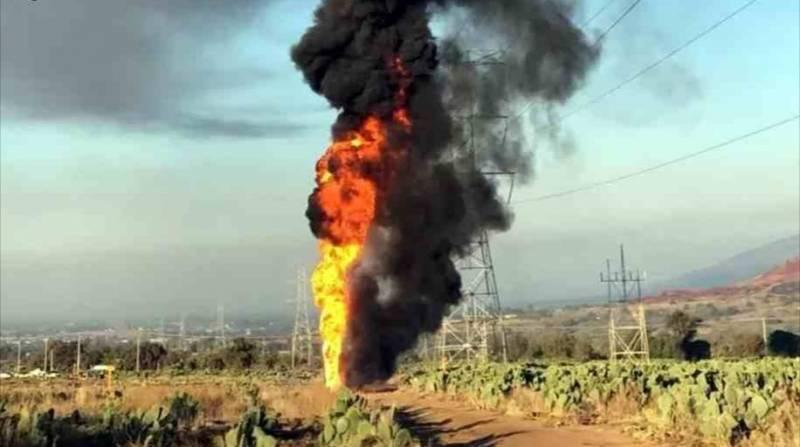 Explota toma clandestina en Axapusco; no hay lesionados