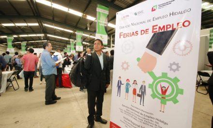 Ofertaron más de 3 mil vacantes en la Feria de Empleo Pachuca