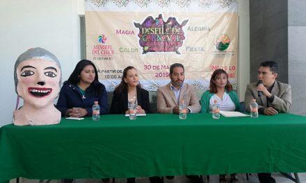 Mineral de Chico invita a su primer desfile de Carnaval