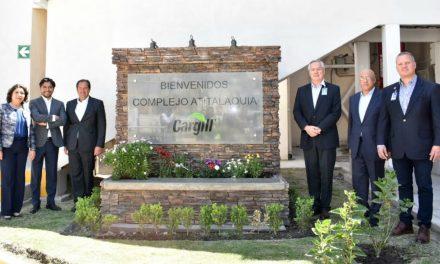 Romo Cruz encabeza inauguración de nueva línea de producción Cargill