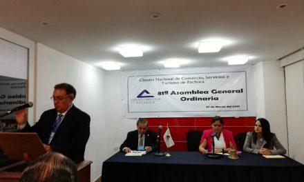 Sergio Trujillo Monroy, nuevo presidente de Canaco Pachuca