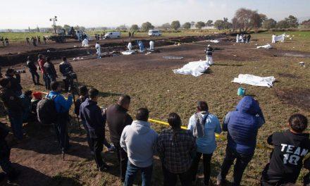 Agilizan investigaciones para identificar restos calcinados en Tlahuelilpan