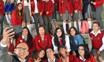 IHJ realiza gira de trabajo en centros educativos de Jacala