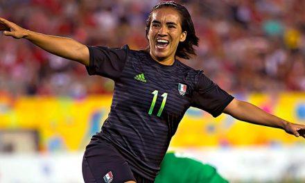 Gol de Mónica Ocampo en Mundial, nominado como uno de los mejores de la historia