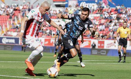 Tuzos empataron 2-2 con Necaxa; aún no amarran su pase a la Liguilla
