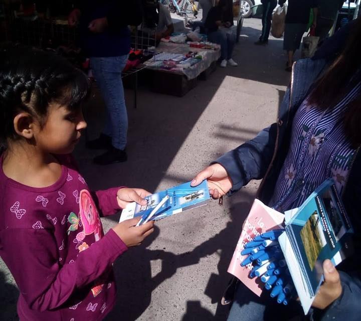 Lanzan campaña en Villa de Tezontepec sobre el cuidado del agua