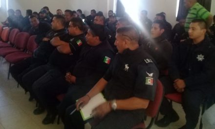 Policías Municipales del Valle de Tizayuca se capacitan en prevención de extorsión