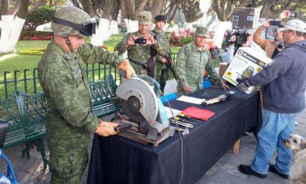 Instalarán Centro de Canje de Armas en Tolcayuca
