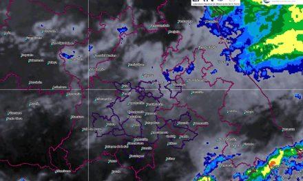 Continúa posibilidad de lluvias este martes