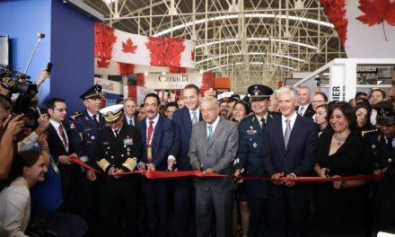 Hidalgo participa en laFeria Aero Espacial México 2019