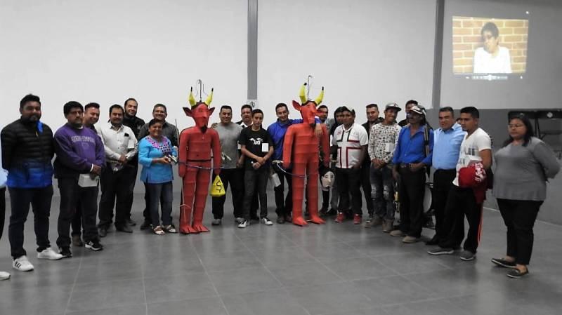 Integrantes de la Judea en Tolcayuca reciben apoyos