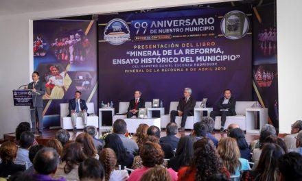 Reconocen historia de Mineral de la Reforma