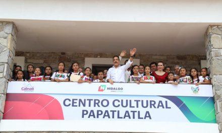 Incentiva Fayad arte, deporte y recreación en Calnali;