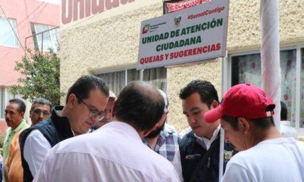 Colocan siete módulos de atención ciudadana en Pachuca