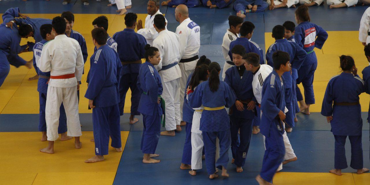 Judo hidalguense con intensa actividad