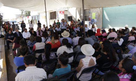 Gabriel García Rojas anuncia nuevas obras para el Barrio El Pedregal