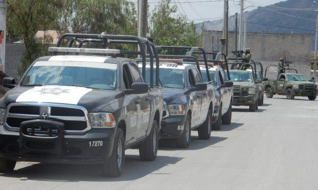 Mantiene SSP operativos en varias zonas del estado