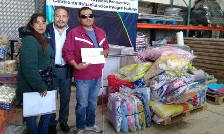 En Tolcayuca gestionan proyectos productivos para personas con discapacidad