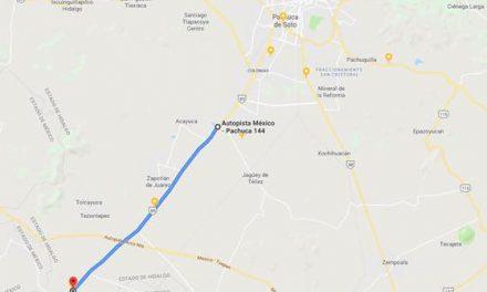 Centro SCT Hidalgo inicia rehabilitación de la carretera federal México-Pachuca