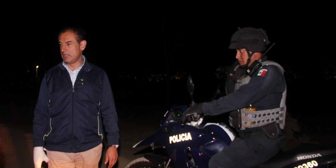 Alcalde de Tulancingo reconoce la necesidad de ampliar canales de seguridad