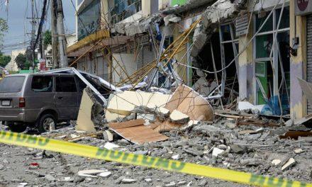 Al menos cinco muertos dejó temblor de 6.1 en Filipinas