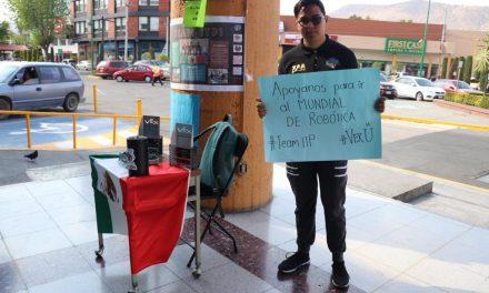 Estudiantes piden apoyo para participar en mundial de robótica en Kentucky