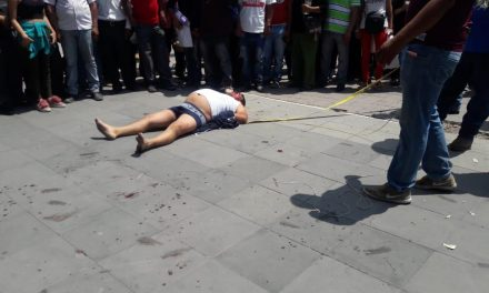Muere presunto delincuente golpeado en Ixmiquilpan